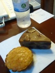 バナナケーキとココナツパイ