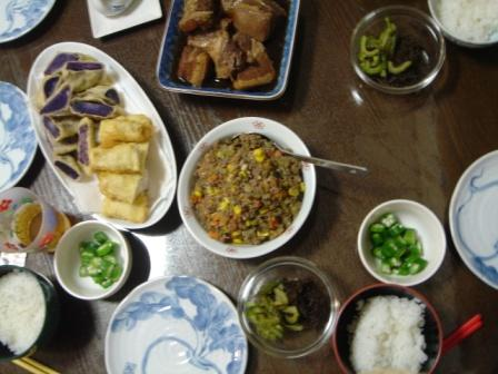 2日目の夕ご飯